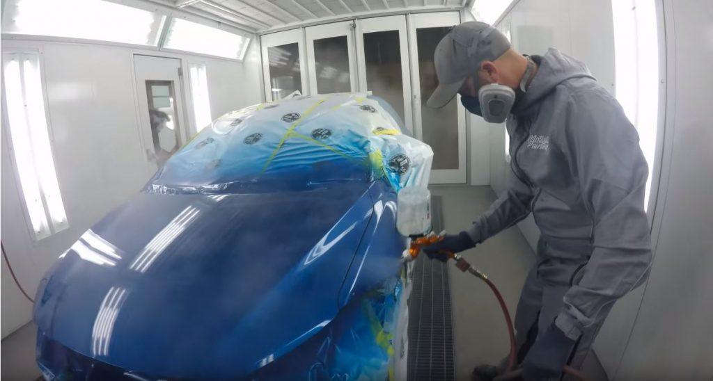 precio pintura de carro