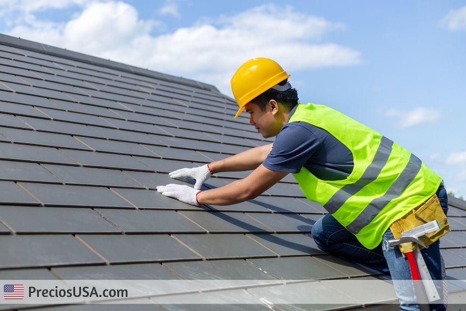 Precio escuadra de roofing