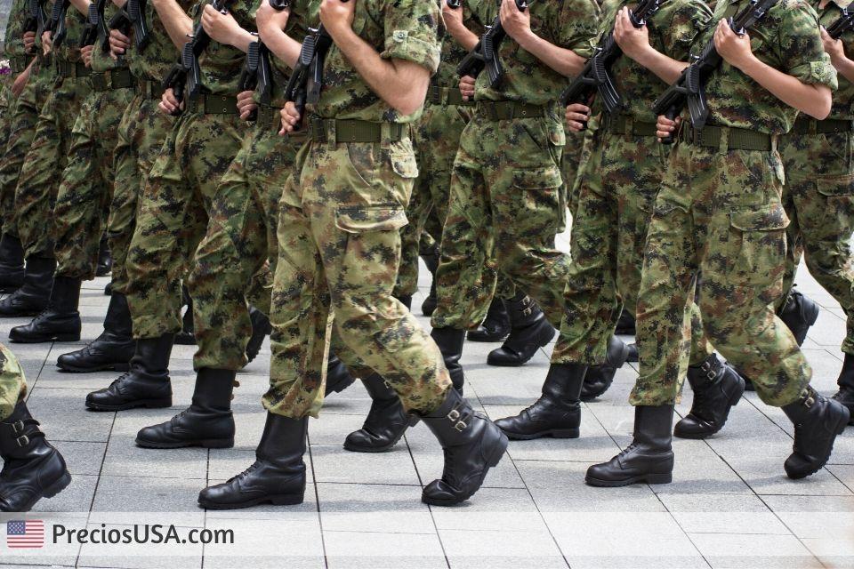 Salario de un soldado del army